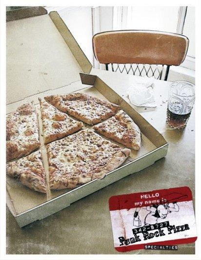 Реклама еды