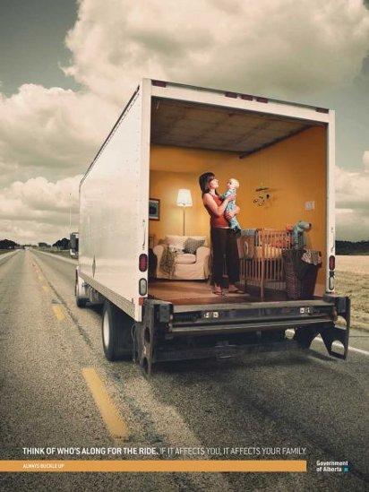 Реклама перевозок