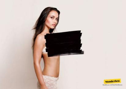 Реклама женского белья