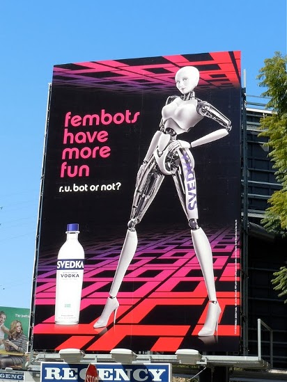 Билборд Svedka Vodka
