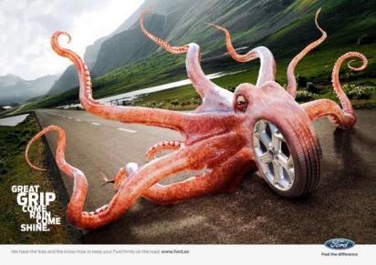 Реклама шин Форд