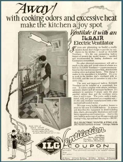 Старая реклама вентиляции
