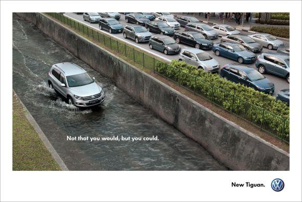 Новая реклама автомобиля Volkswagen Tiguan