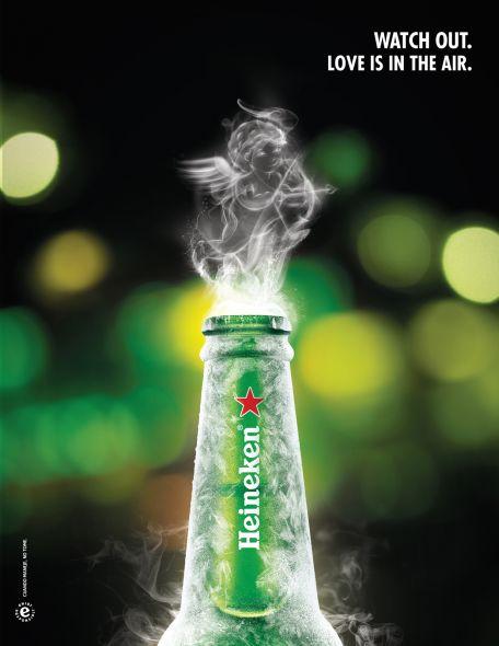 Реклама Пива ко дню Святого Валентина