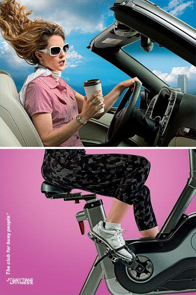 Реклама фитнесклуба