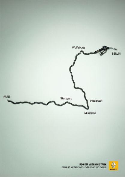1700 км на одном баке с Рено