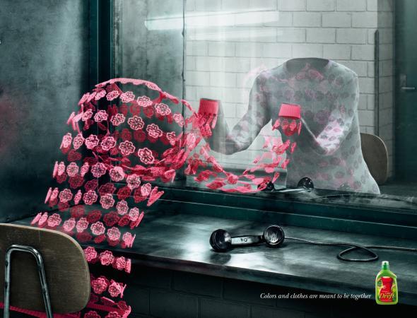 Реклама средства для стирки Дрефт