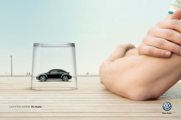 Реклама Volkswagen Жук